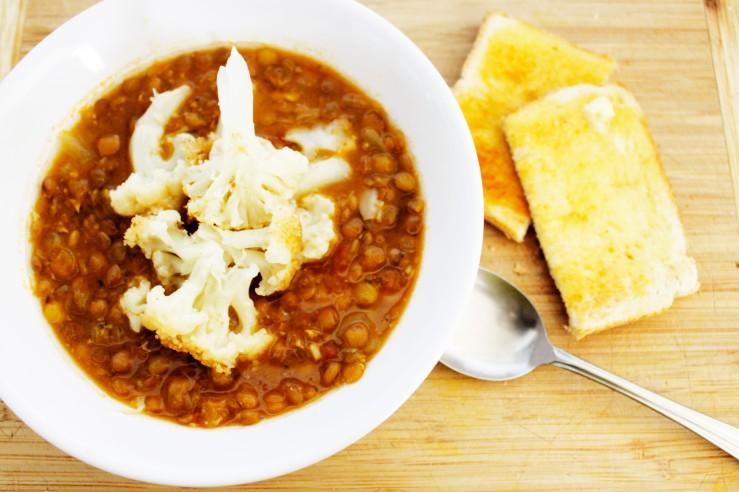 tomato n lentil soup